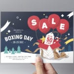 Boxing Day Sale Flyer Template