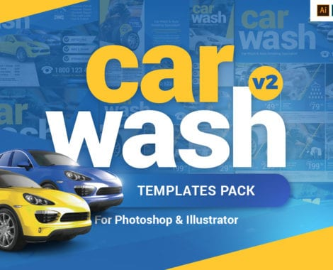 Car Wash Templates Pack
