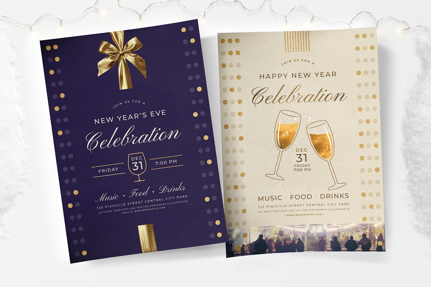 New Year's Eve Poster Templates