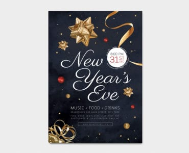 NYE Poster Template