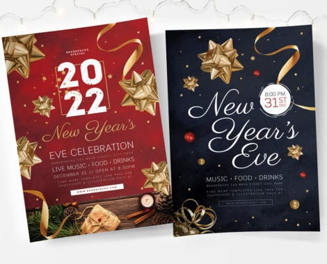 NYE Poster Templates