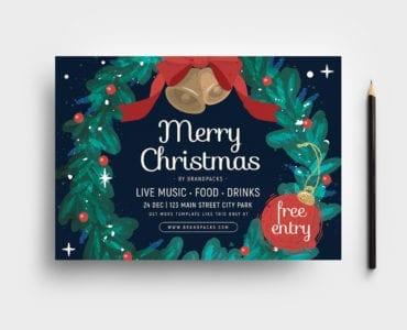 Ornate Christmas Flyer Template
