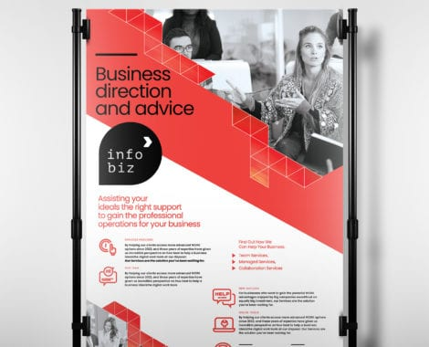 A3 Business Poster Template