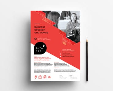 A4 Business Poster Template