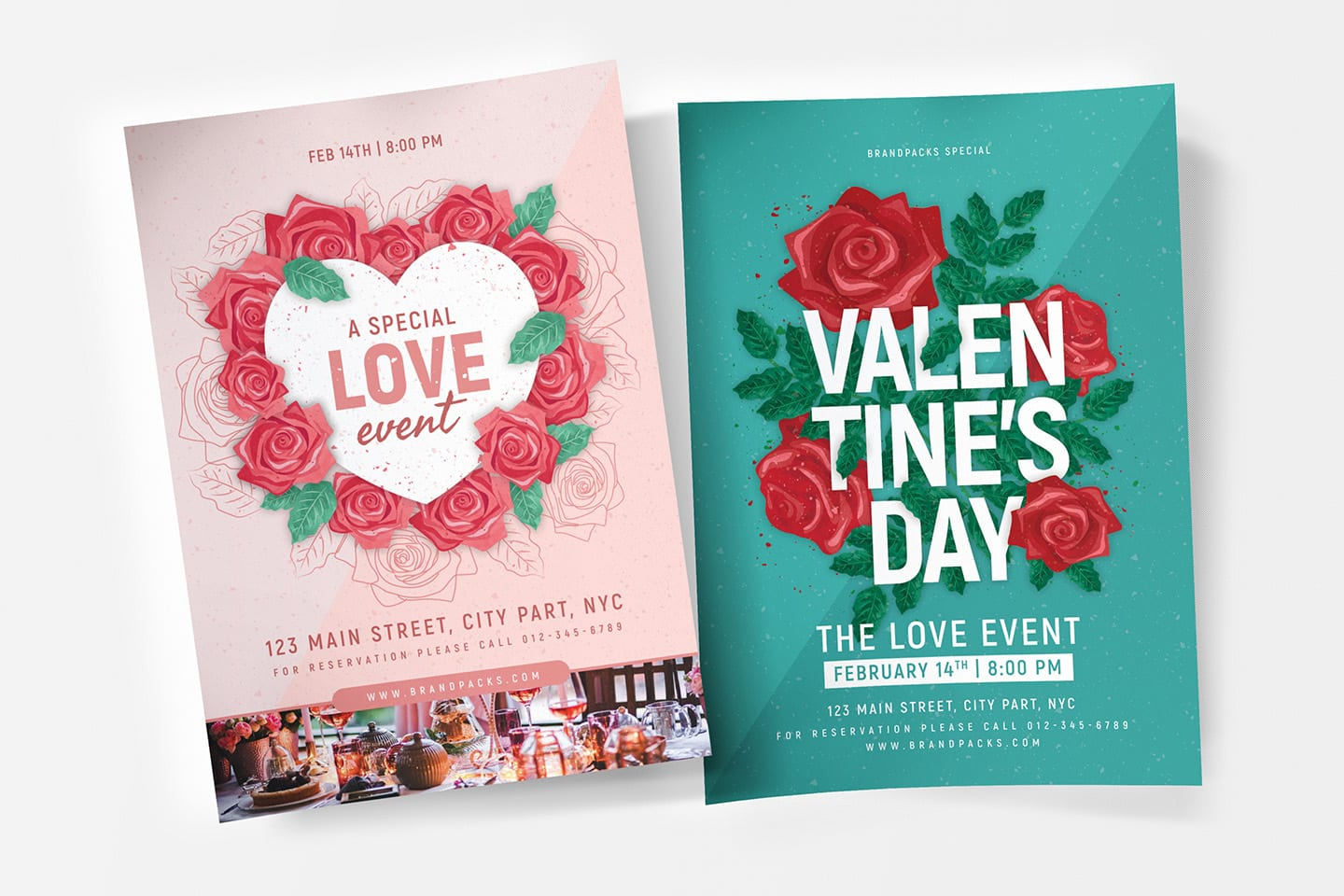 Valentine's Day Poster Templates