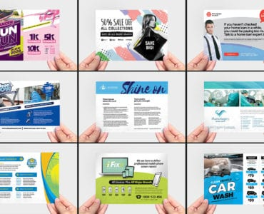Flyer Templates Bundle Preview