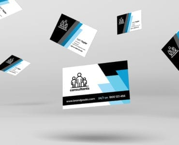 Consultant Business Card Template