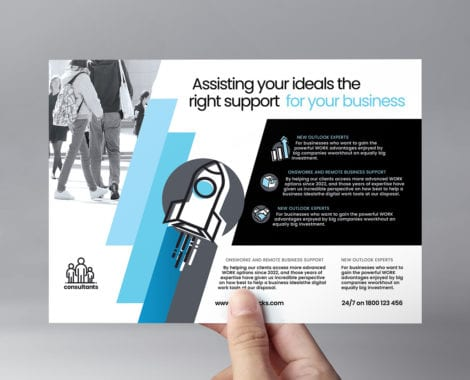 Consultant Flyer Template