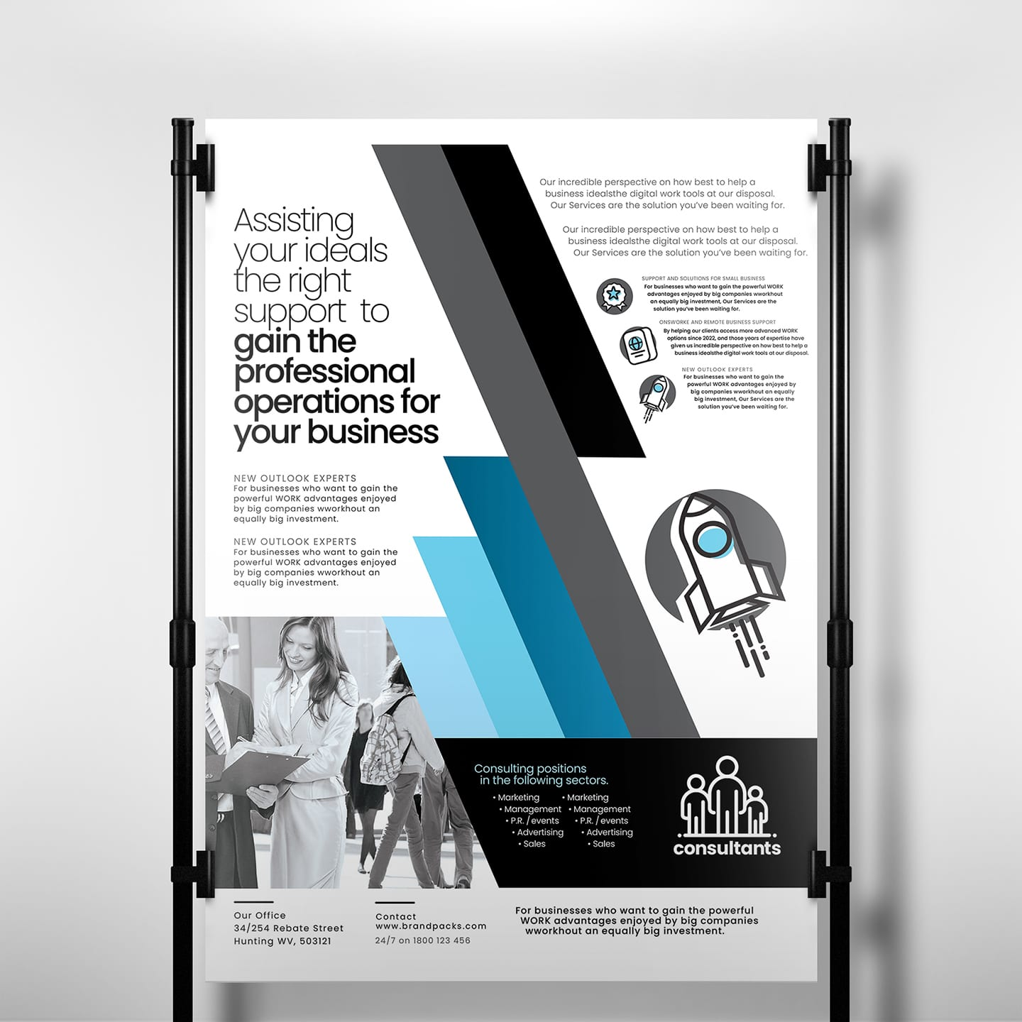 Consultant Poster Template