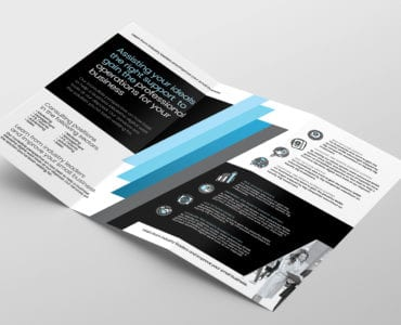 Consultant Tri Fold Brochure Template Inside