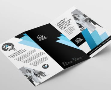 Consultant Tri Fold Brochure Template Outside