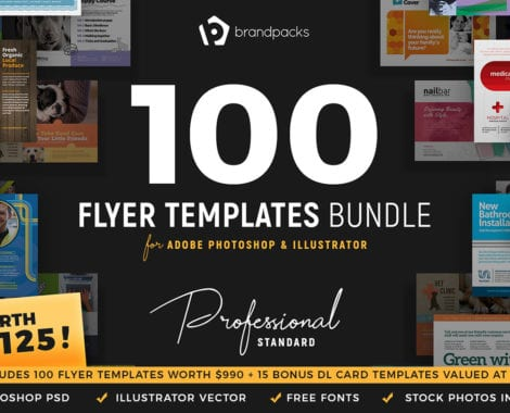 Flyer Templates Bundle by BrandPacks