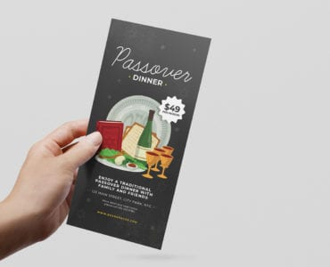 Passover DL Menu Template