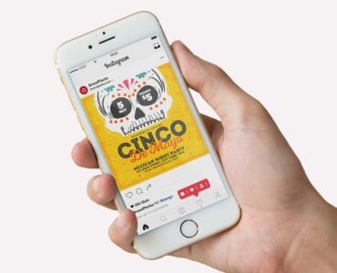 Cinco de Mayo Instagram Banner Templates