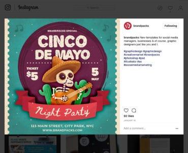 Cinco de Mayo Instagram Banners