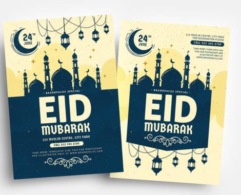 Eid Flyer Templates