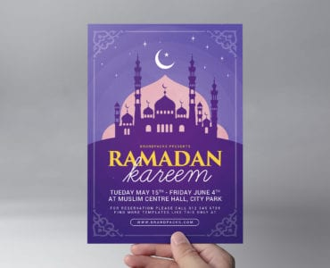 Ramadan Kareem Flyer Template Front