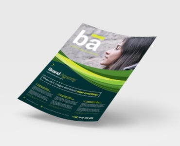 A4 Brand Agency Flyer/Poster Template
