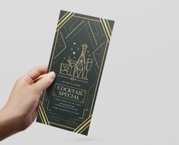 Art Deco DL Flyer Template