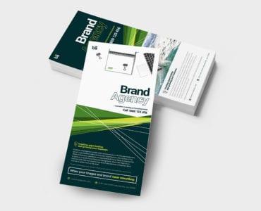 Brand Agency DL Card Template