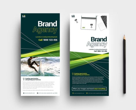 Brand Agency DL Card Template