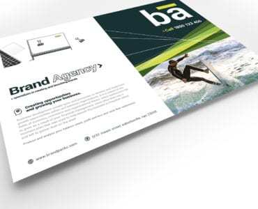 Brand Agency Flyer Template