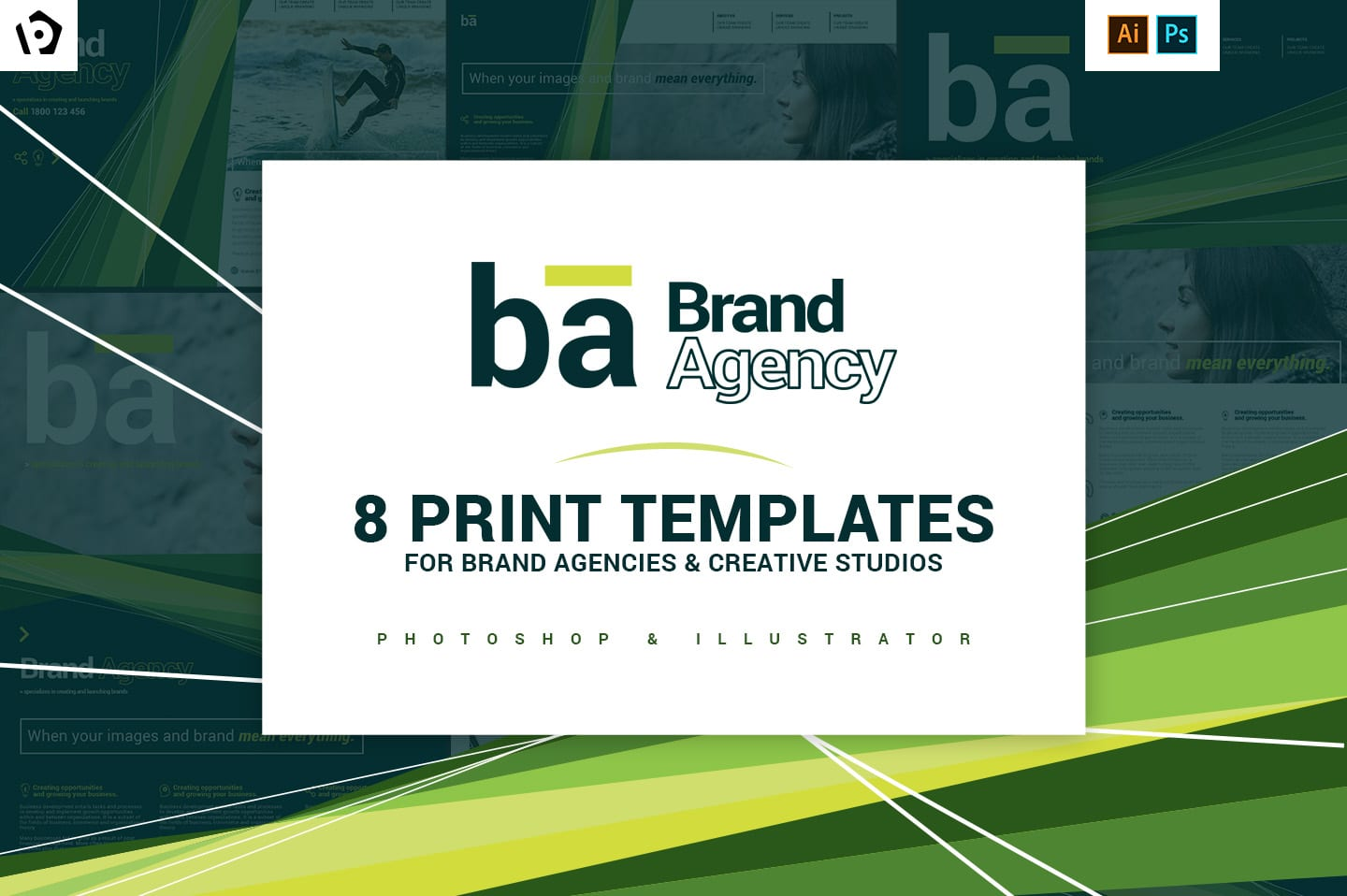 Brand Agency Templates Pack