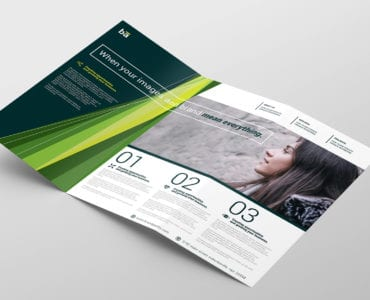 Brand Agency Tri-Fold Brochure Template