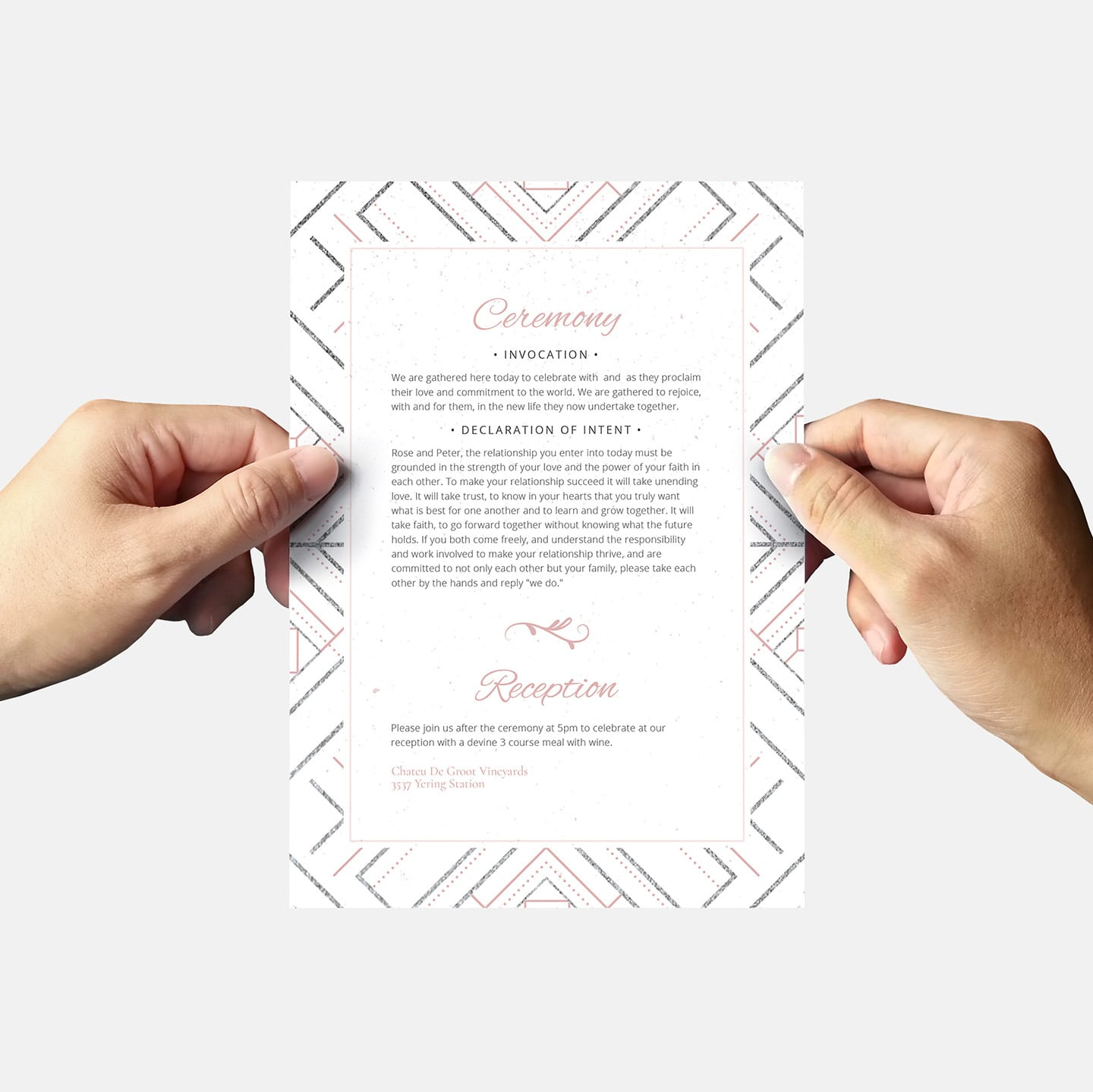 Modern Wedding Invite Wording: Modern Wedding Invitation Templates