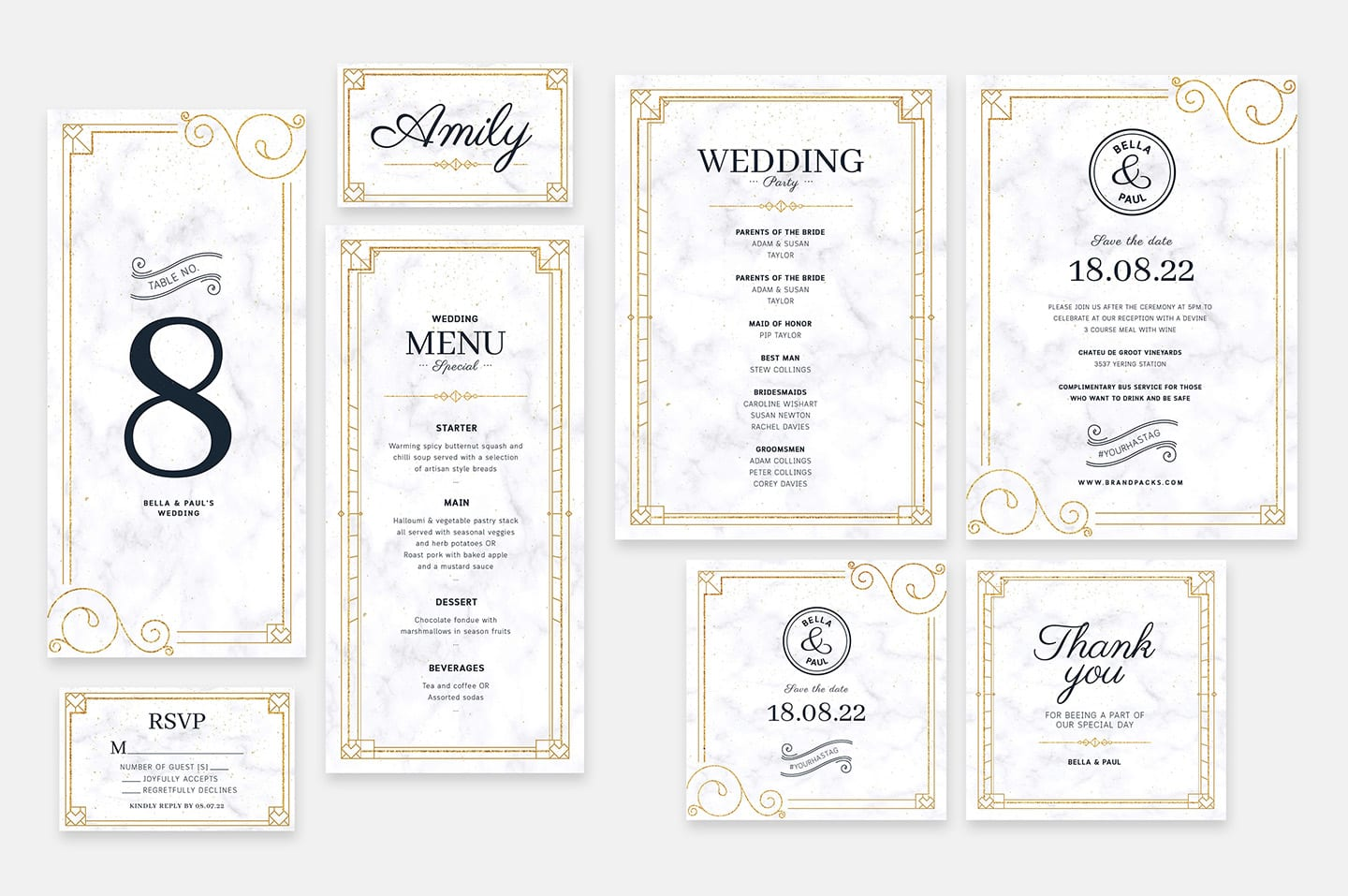 Wedding Invitation Templates