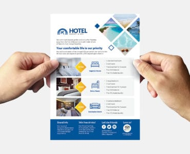 Hotel Flyer Template (Back)