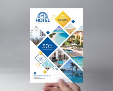 Hotel Flyer Template (Front)