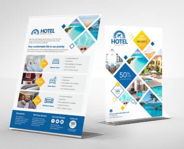 Hotel Table Tent Template