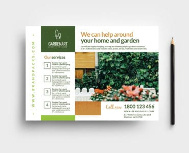 Landscaper Flyer Template in PSD & Vector