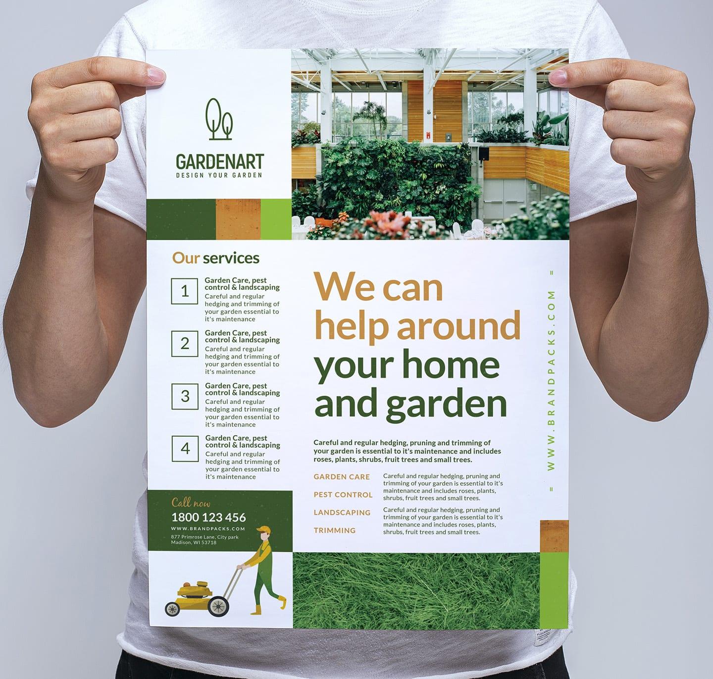 Landscaper Poster/Banner Template