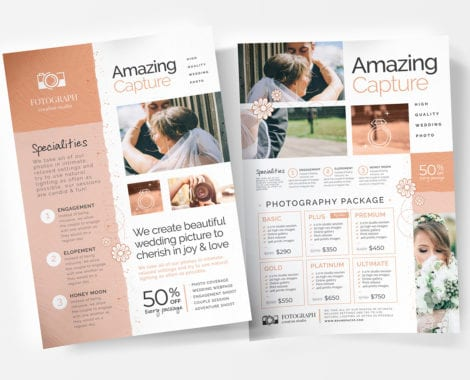 Photography Service Flyer/Poster Templates
