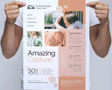 Photography Service Poster/Banner Template