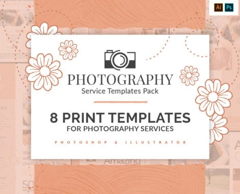 Photography Service Templates Pack