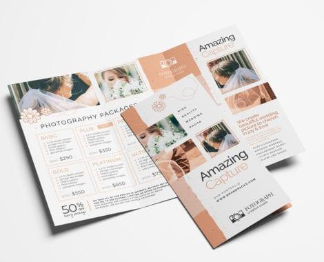 Photography Service Tri-Fold Brochure Template