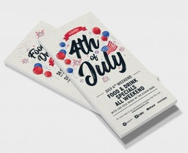 4th of July DL Flyers