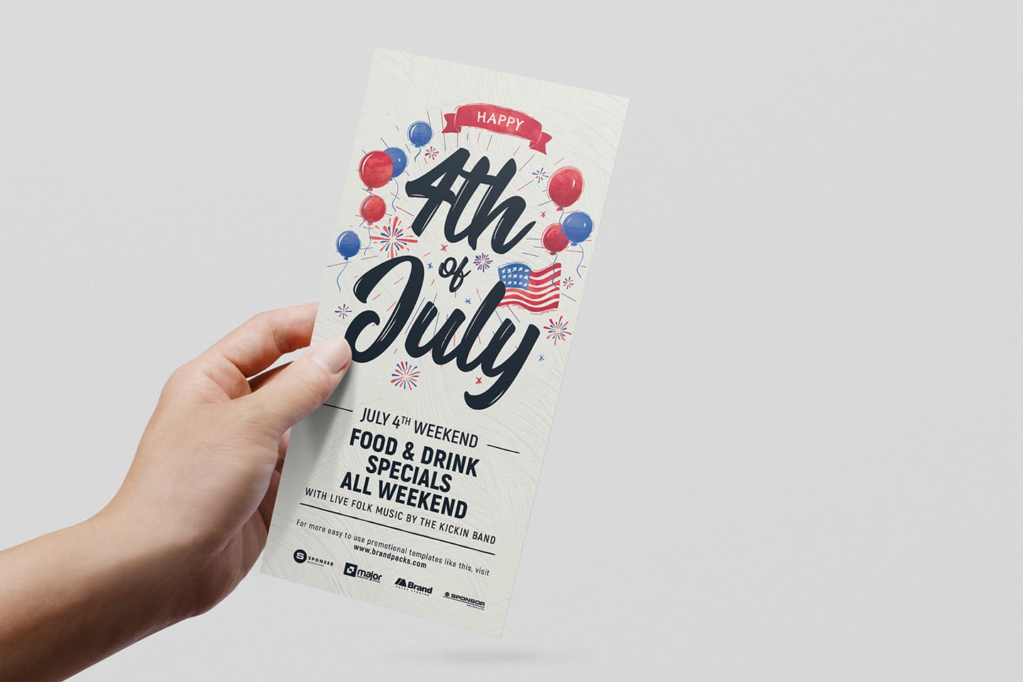 4th of july flyer template - psd  ai  u0026 vector
