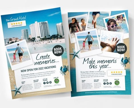Hotel Poster Templates