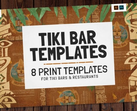 Tiki Bar Templates Pack