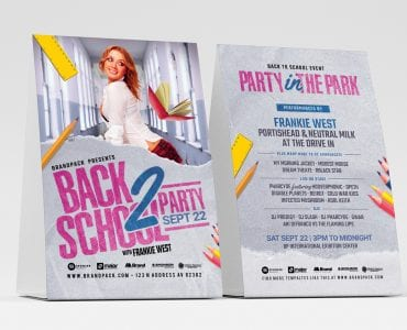 Back to School Flyer Templates