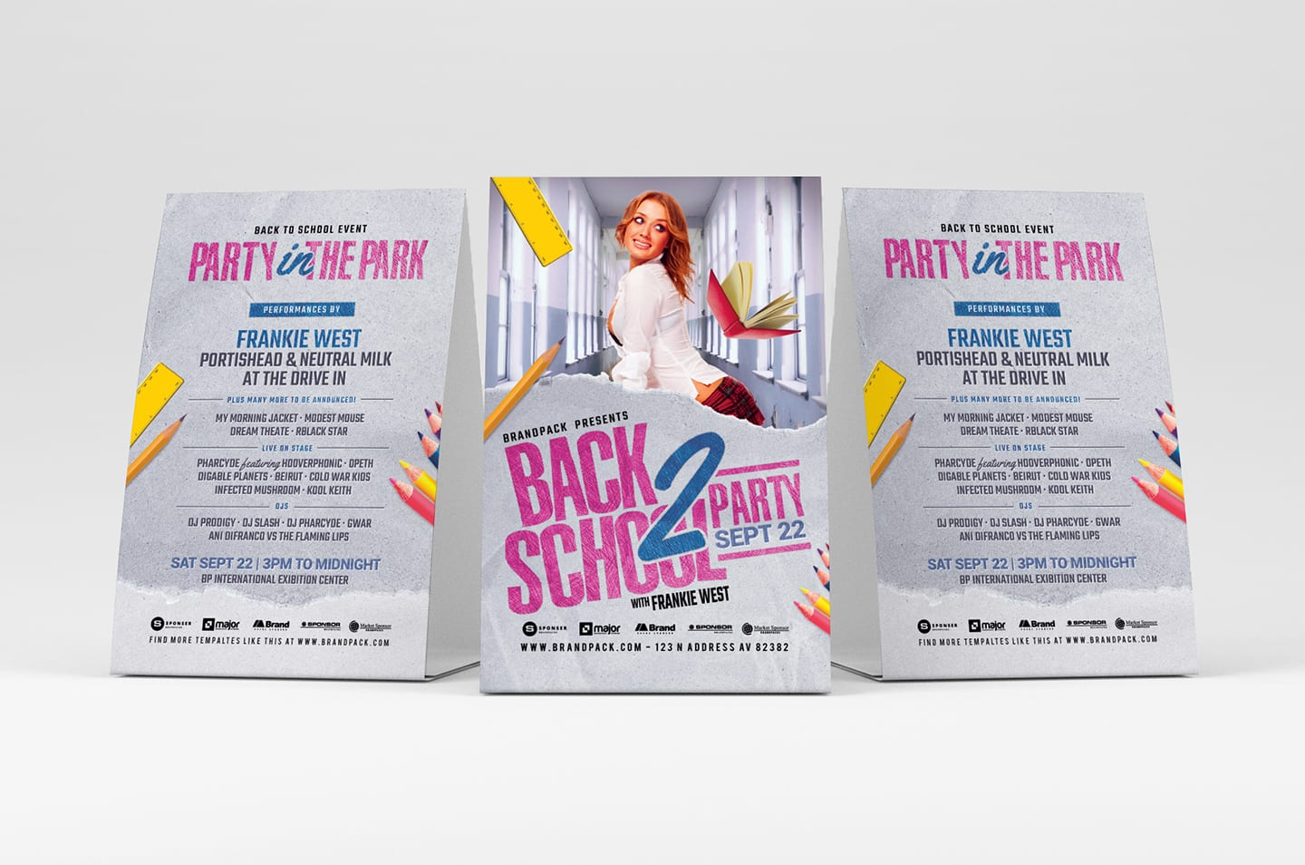 Back to School Flyer Templates - PSD, Ai & Vector - BrandPacks