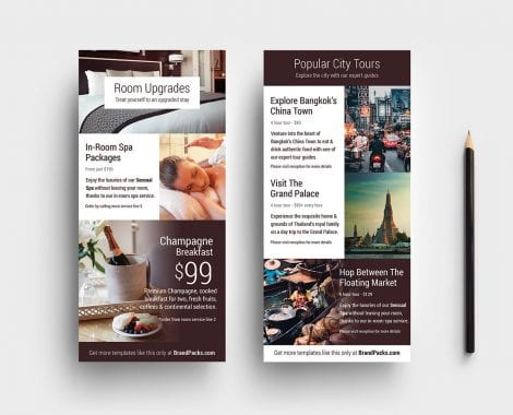 Hotel DL Card Template