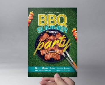 BBQ Flyer Template (front)