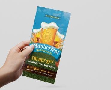 Oktoberfest DL Card Template