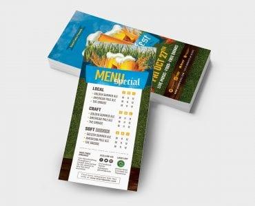 Oktoberfest DL Card Template (back)