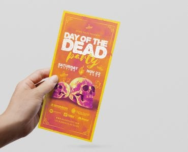 Day of The Dead DL Flyer (front)